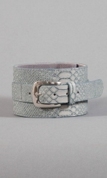 Ellie Buckle Belt - Grey