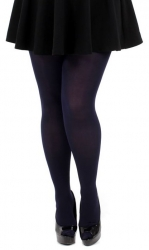 Designer Opaque Navy Tights - 80 Denier
