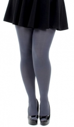 Designer Opaque Slate Tights - 80 Denier