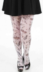 Cars Printed Tights - Multicoloured
