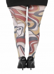 Marquette Printed Tights