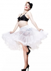 Long Petticoat - White