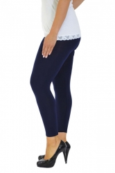Essential Versatile Full Length Leggings - Navy Blue
