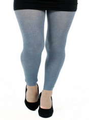 Cute Footless 50 Denier Denim Tights