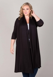 Parker Long Cardigan - Black ------SOLD OUT------