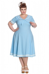 Ambleside Dress - Pastel Blue