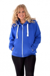 **Essential** Warm Plus Size Hoodie - Royal Blue