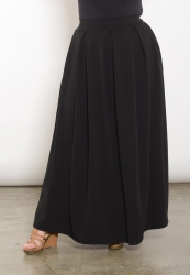 Claudia Maxi Skirt - Black