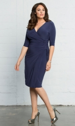 Vixen Cocktail Dress - Nouveau Navy