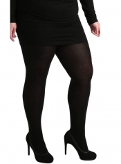 90 Denier Maxi Opaque Tights - Black ------SOLD OUT------