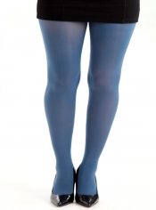 50 Denier Opaque Tights - Denim