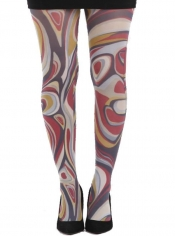 Dalauney Printed Tights