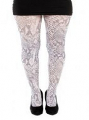 Snake Printed Tights