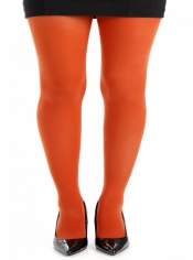 50 Denier Opaque Tights - Rust ------SOLD OUT------