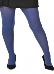 50 Denier Opaque Tights - Steel Blue ------SOLD OUT------