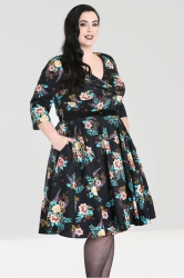 Blue Bell 50's Dress - Black