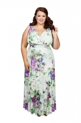 Nancy Marilyn Tropical Beauty Maxi Dress
